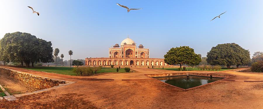 Humayuns Tomb delhi - Sevärdheter i New Delhi
